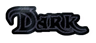Font Dark Crystal Outline Dark Logo Preview