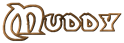 Font Dark Crystal Outline Muddy Logo Preview