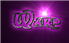 Font Dark Crystal Outline Warp Logo Preview