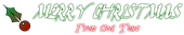 Font Dark Horse Christmas Symbol Logo Preview