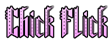 Chick Flick Logo Style