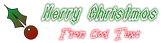 Font Darkside Christmas Symbol Logo Preview