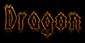 Font Darkside Dragon Logo Preview