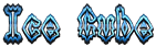 Font Darkside Ice Cube Logo Preview