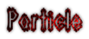 Font Darkside Particle Logo Preview
