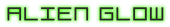 Font De Stijl Alien Glow Logo Preview