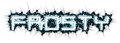 Font De Stijl Frosty Logo Preview