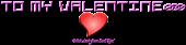Font De Stijl Valentine Symbol Logo Preview