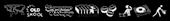 Font Deejay Supreme Gunmetal Logo Preview
