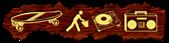 Font Deejay Supreme Slab Logo Preview