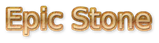 Font DejaVu Sans Epic Stone Logo Preview