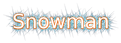 Font DejaVu Sans Snowman Logo Preview
