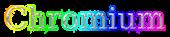 Font DejaVu Serif Chromium Logo Preview