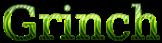 Font DejaVu Serif Grinch Logo Preview