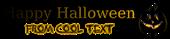 Font DejaVu Serif Halloween Symbol Logo Preview