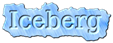 Font DejaVu Serif Iceberg Logo Preview
