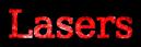 Font DejaVu Serif Lasers Logo Preview