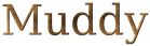 Font DejaVu Serif Muddy Logo Preview