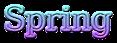 Font DejaVu Serif Spring Logo Preview