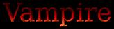 Font DejaVu Serif Vampire Logo Preview