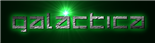 Font Delta Ray Galactica Logo Preview