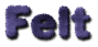 Font Dephunked Felt Logo Preview