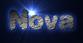 Font Dephunked Nova Logo Preview