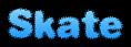 Font Dephunked Skate Logo Preview
