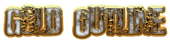 Gold Outline Logo Style