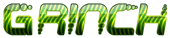 Font Despair Grinch Logo Preview