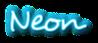 Font Desyrel Neon Logo Preview