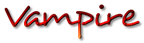 Font Desyrel Vampire Logo Preview