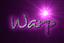 Font Desyrel Warp Logo Preview