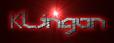 Font Detroit 3k Klingon Logo Preview