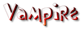 Vampire Logo Style