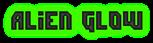 Font Dimitri Alien Glow Logo Preview