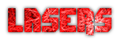 Font Dimitri Lasers Logo Preview