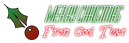 Font Diner Skinny Christmas Symbol Logo Preview