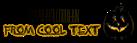 Font Diner Skinny Halloween Symbol Logo Preview