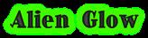 Font Ding-DongDaddyO Alien Glow Logo Preview