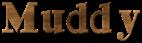 Font Ding-DongDaddyO Muddy Logo Preview