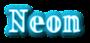 Font Ding-DongDaddyO Neon Logo Preview