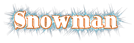 Font Ding-DongDaddyO Snowman Logo Preview