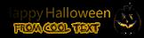 Font Diwani Letter Halloween Symbol Logo Preview