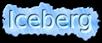 Font Diwani Letter Iceberg Logo Preview