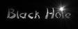 Font DomoAregato Black Hole Logo Preview