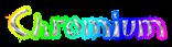 Font DomoAregato Chromium Logo Preview