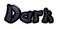 Font DomoAregato Dark Logo Preview