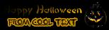 Font DomoAregato Halloween Symbol Logo Preview