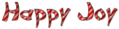 Font DomoAregato Happy Joy Logo Preview